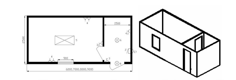 Дом из бытовок как организовать, примеры и фото 95